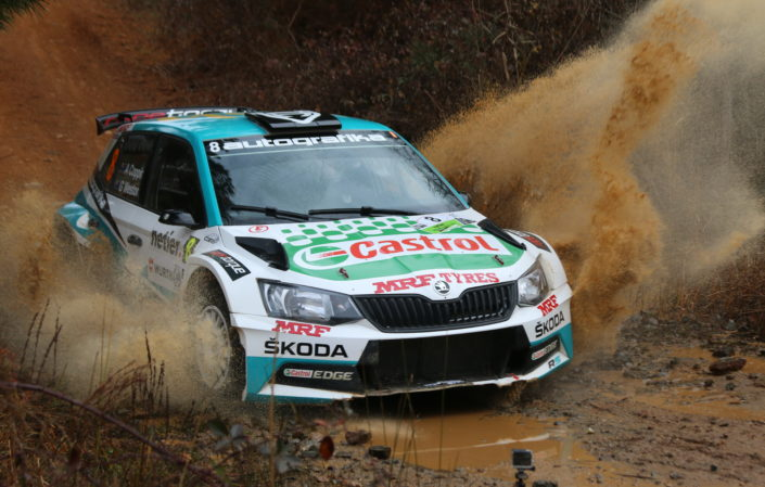Adrian Coppin Skoda watersplash